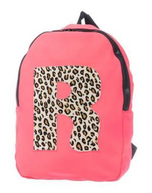 Рюкзаки и сумки на пояс RUCO LINE. Цвет: фуксия