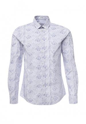 Рубашка Bikkembergs. Цвет: голубой
