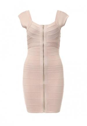Платье Moda Corazon. Цвет: розовый