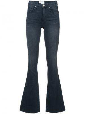 Расклешенные джинсы Mcguire Denim. Цвет: чёрный