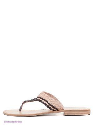 Пантолеты VelVet. Цвет: коричневый, бежевый