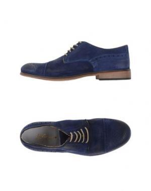 Обувь на шнурках GABARDINE. Цвет: синий