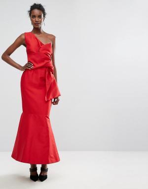 Keepsake Платье Retrogade. Цвет: красный
