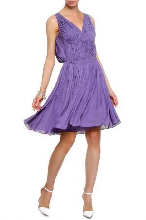 Платье Boss Hugo. Цвет: фиолетовый