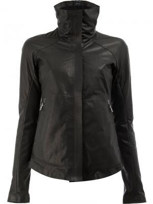 Классическая приталенная куртка Isaac Sellam Experience. Цвет: чёрный