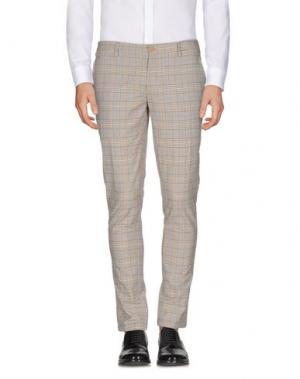 Повседневные брюки DOMENICO TAGLIENTE. Цвет: серый