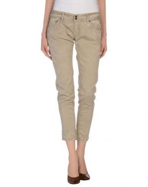 Повседневные брюки GOOD MOOD. Цвет: светло-коричневый