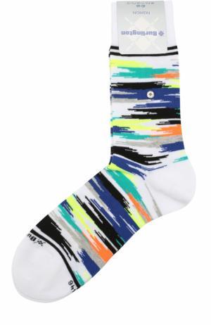 Хлопковые носки Fashion Burlington. Цвет: белый