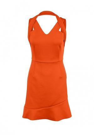 Платье Zalora. Цвет: оранжевый