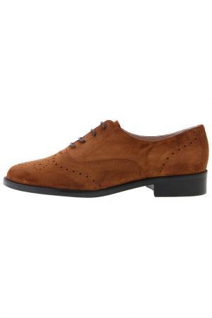 Туфли Sessa. Цвет: коричневый