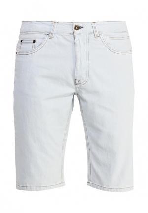 Шорты джинсовые oodji. Цвет: голубой