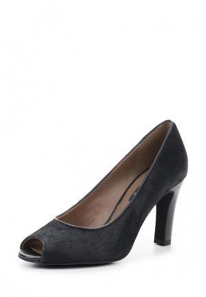 Туфли Ecco. Цвет: черный