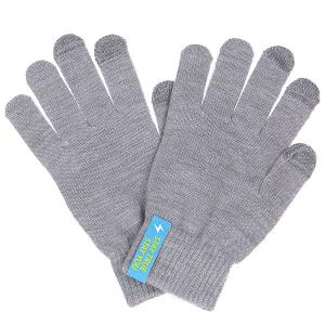 Перчатки  Touchgloves Light Grey TrueSpin. Цвет: серый