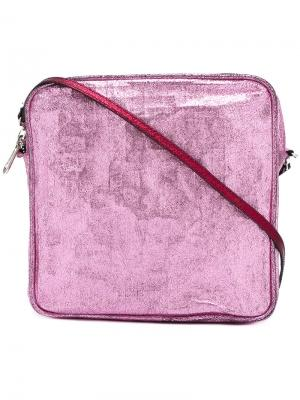 Сумка на плечо Zilla. Цвет: розовый и фиолетовый