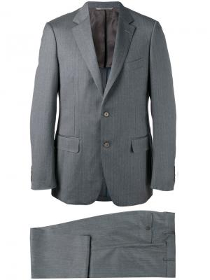 Брючный костюм Canali. Цвет: серый