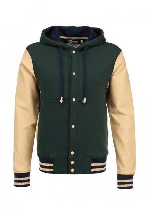 Куртка утепленная HoodieBuddie. Цвет: разноцветный