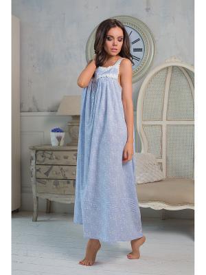 Ночная сорочка Mia-Mia. Цвет: голубой