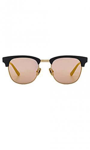 Солнцезащитные очки vanguard WESTWARD LEANING. Цвет: черный
