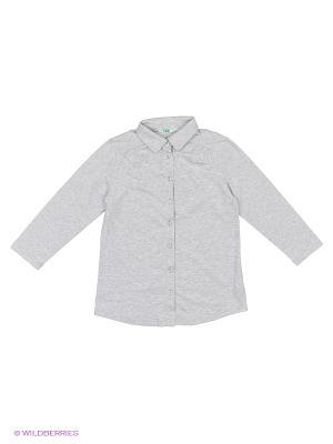 Блузка LIK. Цвет: серый