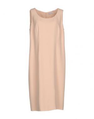 Платье до колена GAI MATTIOLO. Цвет: розовый