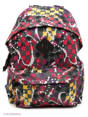 Рюкзак UNION. Цвет: серый, красный, розовый, желтый