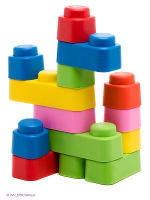 Конструктор Мягкие кирпичики Десятое королевство. Цвет: белый, синий, красный, желтый
