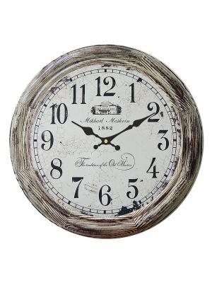 Часы настенные Михаилъ Москвинъ. Цвет: серый