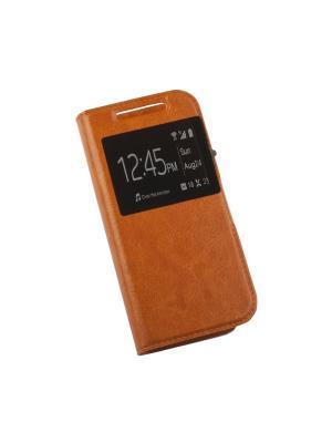 Чехол LP раскладной универсальный для телефонов размер L 120х56мм (оранжевый/коробка) Liberty Project. Цвет: оранжевый