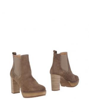 Полусапоги и высокие ботинки GEORGE J. LOVE. Цвет: бежевый