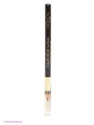 Карандаш для глаз Color Riche, Le Khol, оттенок 101, Ночной Нью-Йорк, 4 г L'Oreal Paris. Цвет: черный