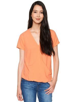 Блузка TOM TAILOR. Цвет: персиковый