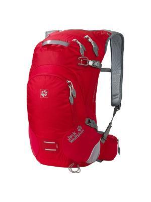 Рюкзак ACS STRATOSPHERE 20 PACK Jack Wolfskin. Цвет: красный