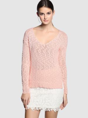 Пуловер FORMULA JOVEN. Цвет: персиковый