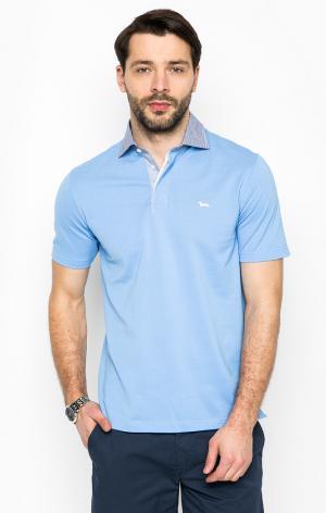 Футболка Поло HarmontBlaine. Цвет: голубой