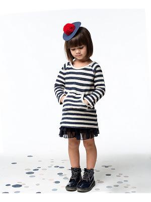Комплект одежды Cookie. Цвет: темно-синий, молочный