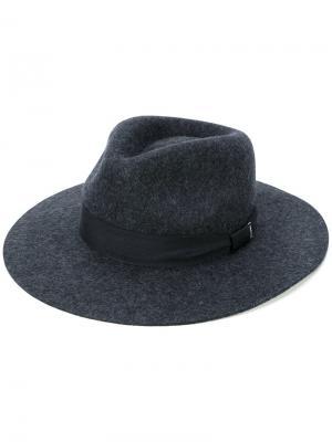Фетровая шляпа Cabely Diesel. Цвет: серый