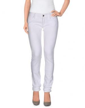 Повседневные брюки SISTERS POINT. Цвет: белый