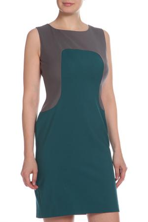 Платье Oltre. Цвет: серый, зеленый