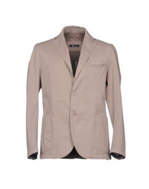 Пиджак RIVIERA. Цвет: коричневый