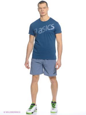 Шорты Woven Short 7In ASICS. Цвет: голубой