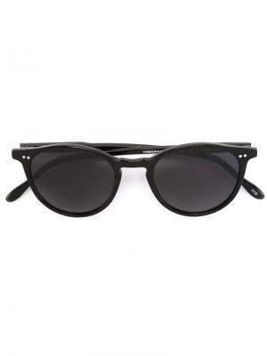 Солнцезащитные очки Pantos Paris. Цвет: чёрный