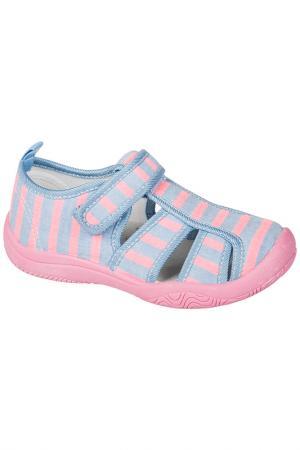 Текстильная обувь MURSU. Цвет: голубой
