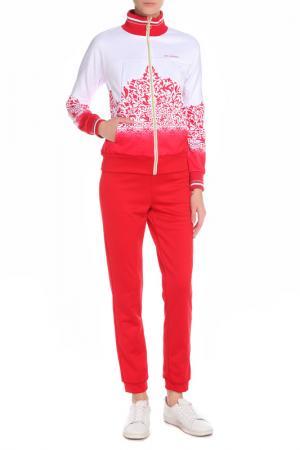 Костюм: джемпер и брюки Stayer. Цвет: красный