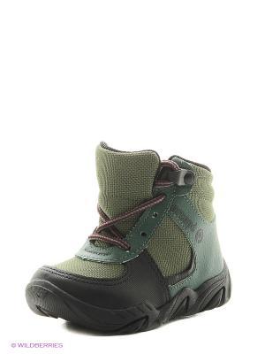 Ботинки Ortope. Цвет: зеленый
