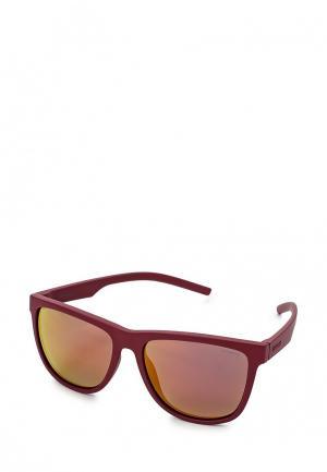 Очки солнцезащитные Polaroid. Цвет: бордовый