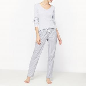 Пижама LOVE JOSEPHINE. Цвет: серый в полоску