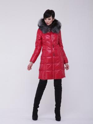 Стеганое пальто CATTAIL WILLOW. Цвет: красный