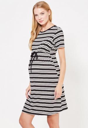 Платье Dorothy Perkins Maternity. Цвет: черно-белый