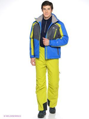 Куртка Trespass. Цвет: голубой