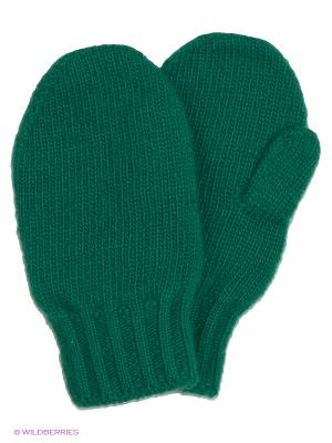 Варежки United Colors of Benetton. Цвет: зеленый